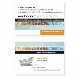 Wilcox Fabrications Business Cards