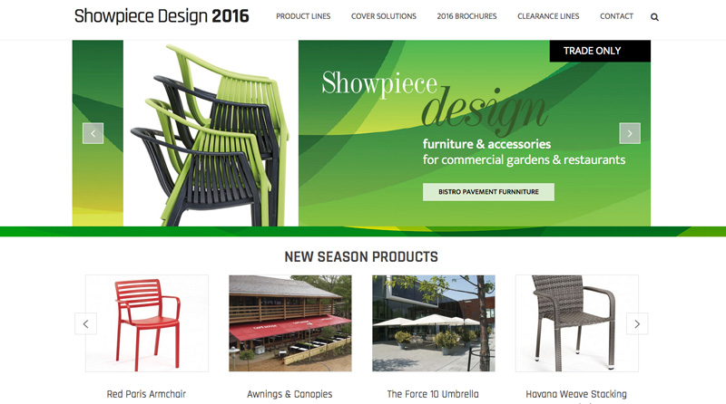 Showpiece design website designer