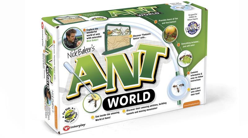 Ant World Packaging Designer