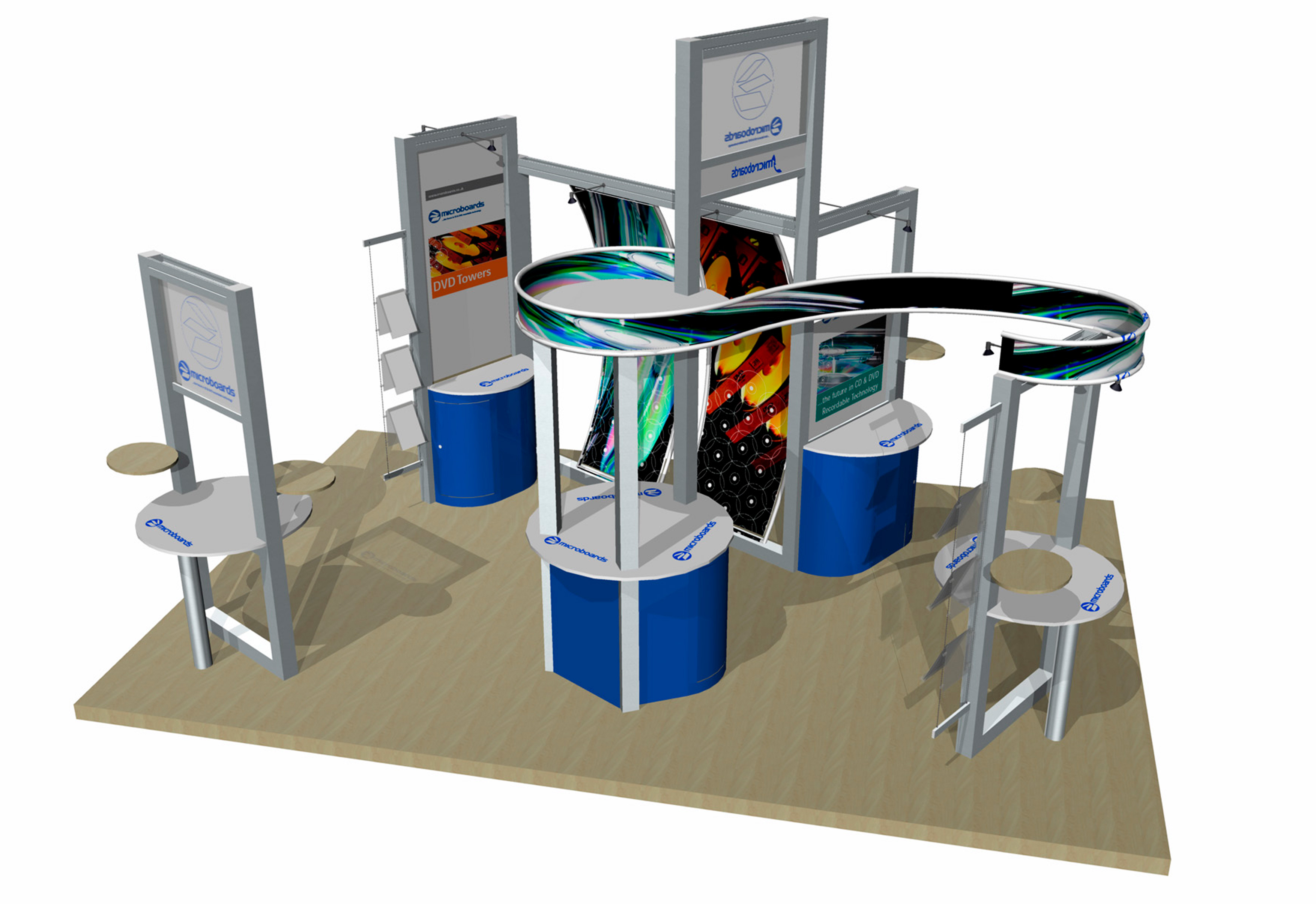 Microboards Exhibition Stand