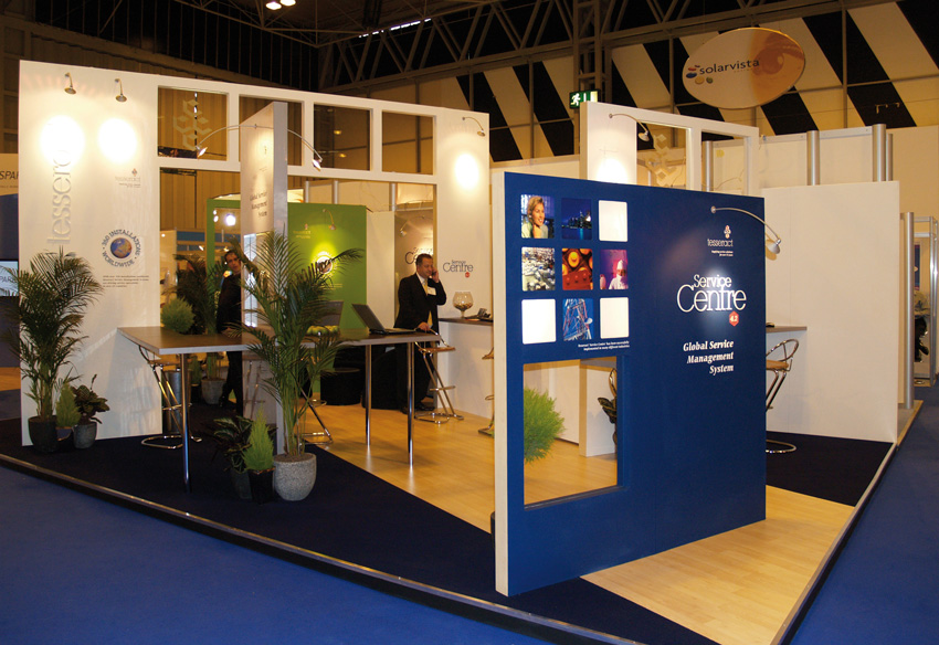 Tesseract Exhibition stand