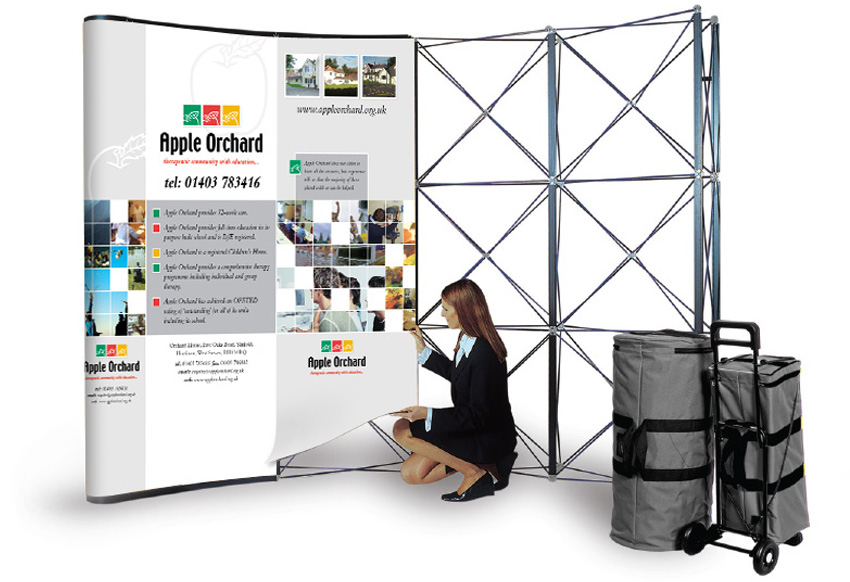 Pop Up Exhibition Stands Adelante Design