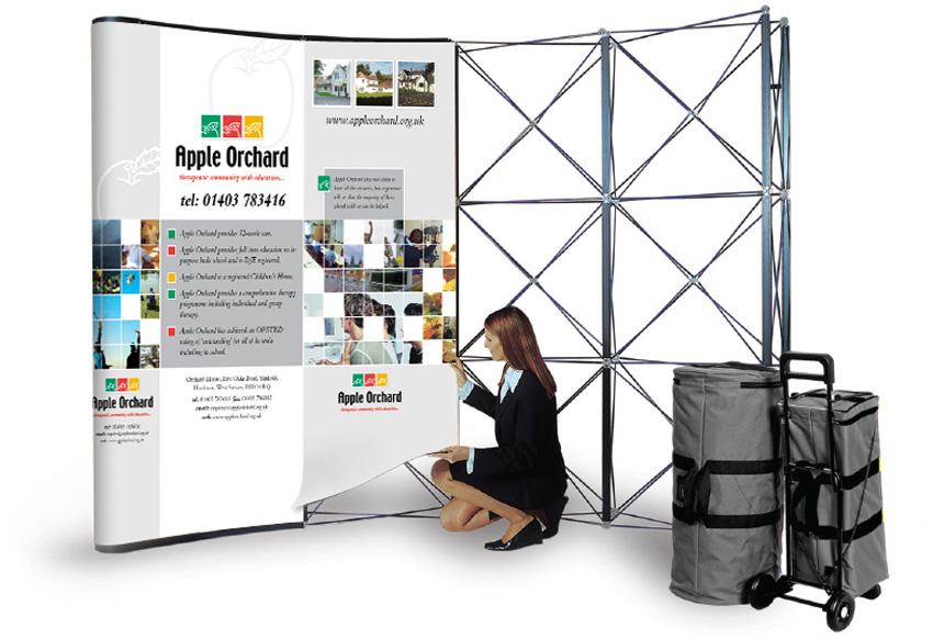 Exhibition Stand Weight : Pop up exhibition stands adelante design