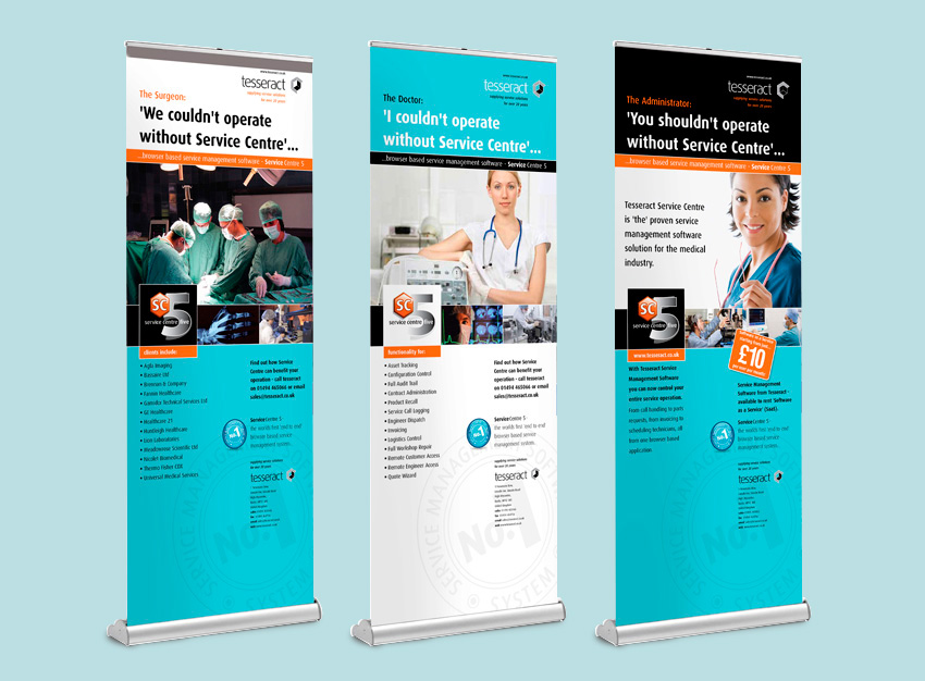 Exhibition Roller Banners