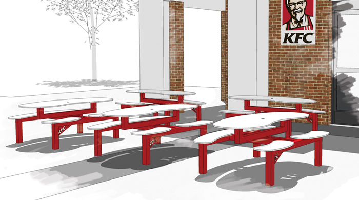 KFC Bench Design