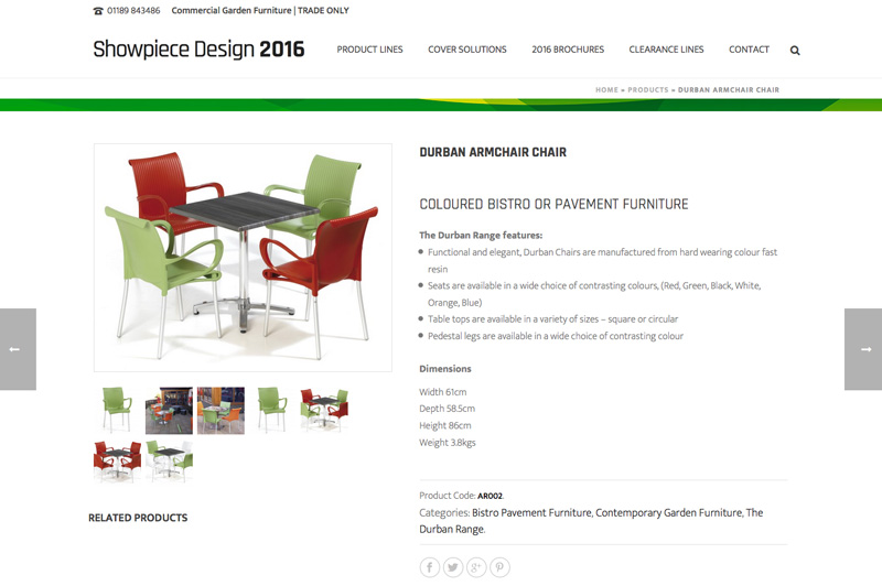 showpiece design website