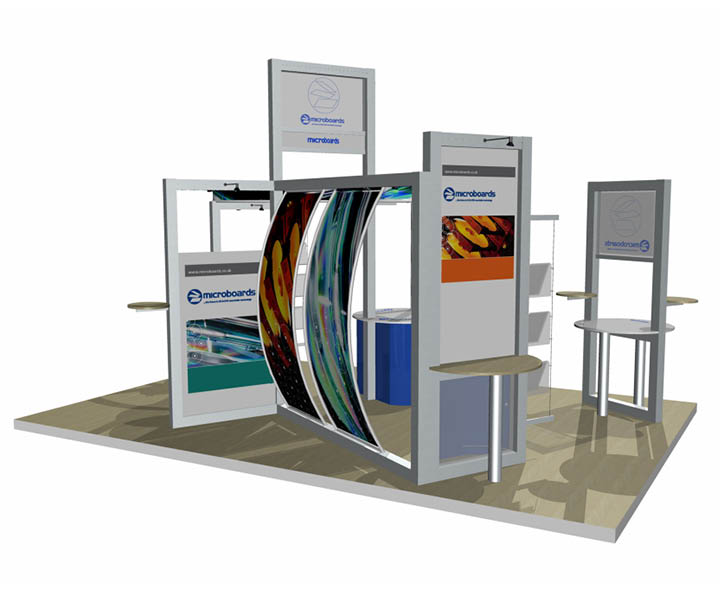 Modular Exhibition Stands Designs : Modular exhibition stands adelante design