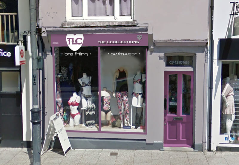 The L Collection Shop Front After