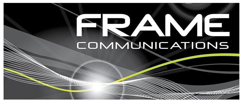 Frame Communications Logo Design