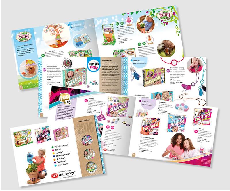 Toy Catalogue Designs