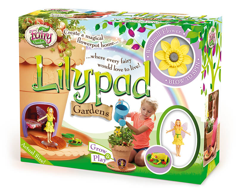 Lilypad Garden Packaging Design