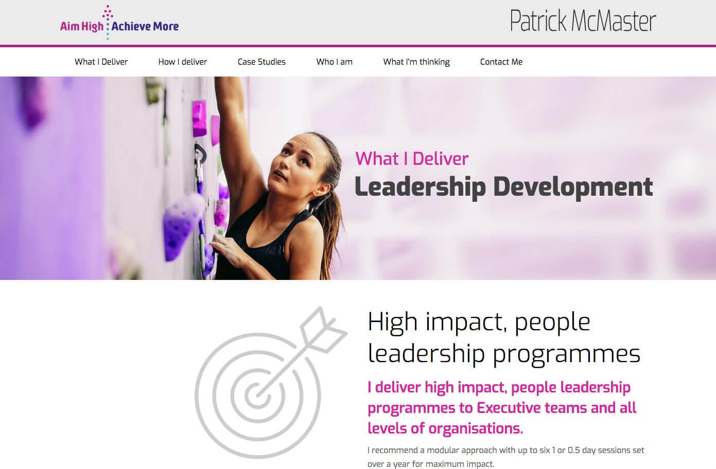 Patrick McMaster Leadership Development