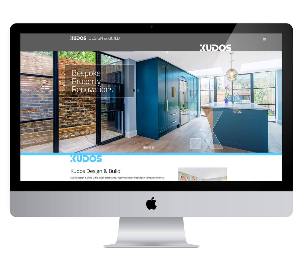 Kudos Design and Build Website